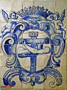 Tile Art, Mosaic Tiles, Portuguese Tiles, Blue Tiles, Religious Art, Byzantine, Painting Techniques, Ceramic Art, Art History