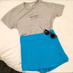 NWT J. Crew Origami Skort NWT! J. Crew turquoise origami skort. Size 2. Side zipper closure with frog clasp, 100% polyester. Length: 13 1/4 inches, width: 15 1/2 inches, BLOGGER FAVORITE J. Crew Shorts Skorts