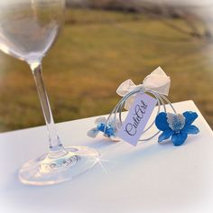 Wedding place tags - Orchid flowers #handmade #orchid #flower #placetag #wedding #nametag #weddingfavor