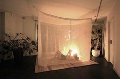 お姫様ベッド、もとい蚊帳。24,490円