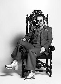 Elton John: Musician, composer and self-proclaimed diva