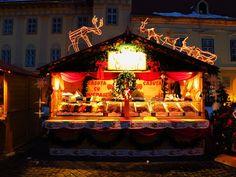 Christmas Stalls in Sibiu