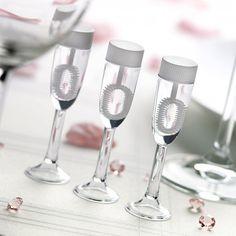 Flute a champagne Bulles de Savon mariage x 6 pièces