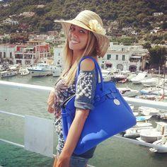 A spasso per Ischia con #capribag