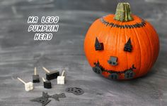 Mr Lego Pumpkin Head and other ideas for a Lego-themed Halloween party
