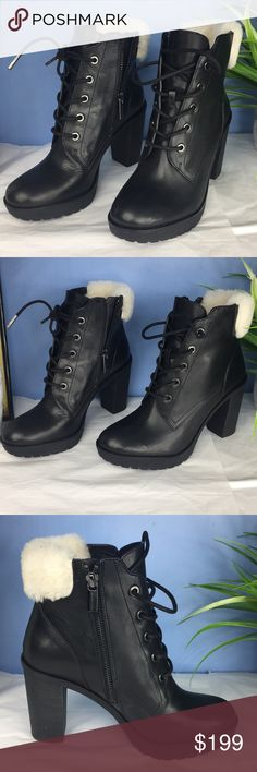 New Michael Kors women's short boots $295 Brand new Michael Kors Leather women's Ankle Boots 100 % authentic product with out box MICHAEL Michael Kors Shoes Ankle Boots & Booties