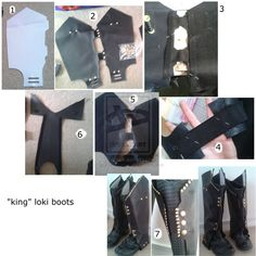 Loki costume tutorial this would have been nice like 5 months loki boots by sasukeharberiantart on deviantart cosplay diycosplay solutioingenieria Gallery