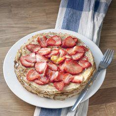 Gluten Free Pancakes with Cinnamon Honey Butter