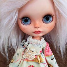 RESERVED for Kirsty  OOAK Custom Blythe Doll Named Ava Rose