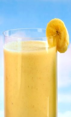 We're celebrating #NationalPeanutButterDay blended in a smoothie with yummy bananas!