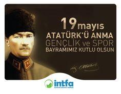 #19Mayıs Atatürk'ü Anma #Gençlik ve Spor #Bayramınız Kutlu Olsun.