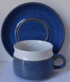 DENBY LANGLEY CHATSWORTH CUP SAUCER