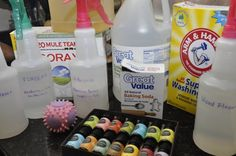 Homemade Cleaning Supplies: All-Purpose Cleaner, Window Cleaner, Wood Furniture & Floor Polish, Granite Countertop Cleaner, Toilet Bowl Cleaner,