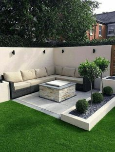 50 Awesome Modern Garden Architecture Design Ideas The Effective Pictures We Offer You About Landsca Small Backyard Design, Backyard Patio Designs, Small Backyard Landscaping, Pergola Designs, Backyard Ideas, Landscaping Ideas, Patio Ideas, Pergola Ideas, Mulch Landscaping
