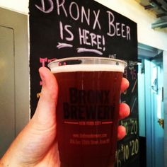 Cheers to The Bronx Brewery for giving us a beer tour over the weekend!