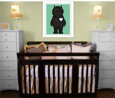 Where the Wild Things Are - Nursery Art Print