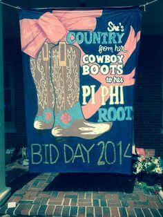 adorable bid day banner♥
