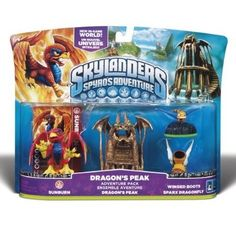 nice Skylanders Spyro's Adventure Pack: Dragon's Peak - For Sale