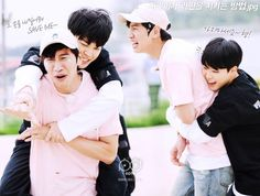 Running man preview (behind the scenes) ❤ Jimin and Kwangsoo #BTS #방탄소년단