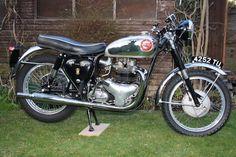 1963 BSA 646cc Rocket Gold Star Frame no. GA10 1604 Engine no. DA10R 10261