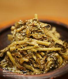 무청요리 백종원 시래기볶음 만들기~~~ 겨울철 별미에서 빠질 수 없는 시래기 요리 ~~시래기는 비타민C, ... A Food, Food And Drink, Asian Recipes, Ethnic Recipes, Vegetable Seasoning, Korean Food, Food Design, Food Plating, No Cook Meals