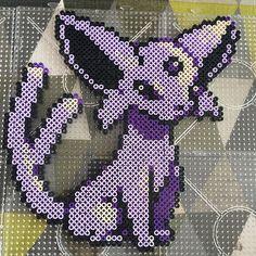 Espeon - Pokemon perler beads by nattapult