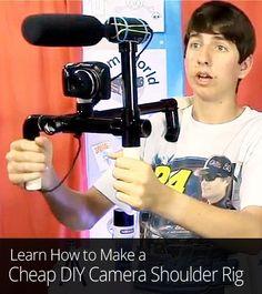 Cheap DIY Camera Shoulder Rig