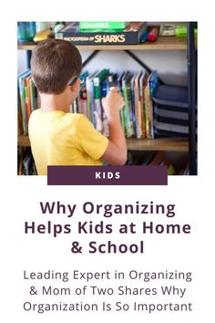 We're going to talk about why organizing helps kids at home and at school. I'll also share some of my favorite tools for getting kids organized! Click to get your kids ready for the school year, whether you're homeschooling, e-learning, going to in-person school, or some combination! Organization Skills, Playroom Organization, Organizing, Study Skills, Life Skills, Sharks For Kids, How To Teach Kids, Organized Mom, Family Organizer