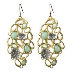 Siyabona Gold Petal Earring::Earrings::Jewelry::Alexis Bittar $225
