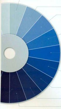 Оттенки синего цвета
