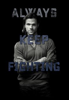 "Jared Padalecki ""ALWAYS KEEP FIGHTING"" Limited Edition Merch 