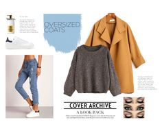 """""""Chic Oversized Coats"""" by evinejosianne ❤ liked on Polyvore featuring Molton Brown and adidas Originals"""