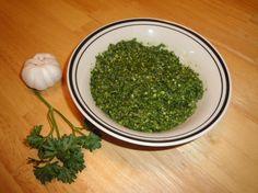 Pesto:  Easy and tasty!