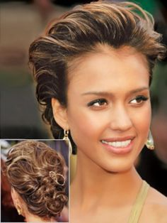 Elegant updo hairstyles for women - which styles flatter you and your face shape?