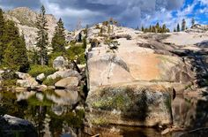 """A hidden pool in the Sierras called """"Enchanted."""""""