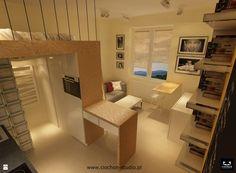 Na 20 m² - zdjęcie od Ciochoń - Studio - Salon - Styl Nowoczesny - Ciochoń - Studio