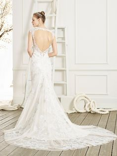 Beloved Bridals style BL208 Jubilee, you have to see this gorgeous back! #InWhiteSpringfield