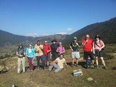 @Darren Vogelsang Ireland Trek India crew had their 1st glimpse of a 7k+ snow cap