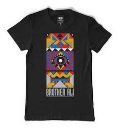 "Brother Ali ""Choke"" Black Shirt"