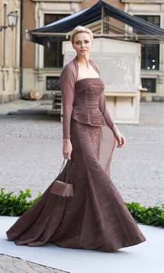 Princess Charlene of Monaco attends the wedding of Princess Madeleine of Sweden and Christopher O'Neill hosted by King Carl Gustaf XIV and Queen Silvia at The Royal Palace on June 2013 in. Get premium, high resolution news photos at Getty Images Princess Of Genovia, Two Princess, Princess Stephanie, Grace Kelly, Fürstin Charlene, Indigo Dress, Style Royal, Prince Charles And Camilla, Monaco Royal Family