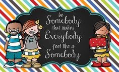 Character Education Banner - Be SomebodyDecorate your classroom with this bright, colorful BRAINY BUNCH banner. This purchase includes one JPEG image which you can upload and print on a vinyl banner.Step-by-step instructions for uploading this image to Vistaprint.com are provided; however, it can also be printed at other places like Staples and Office Max.