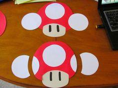 mario birthday party decorations diy | Gluten Free Mom: Mario Kart DIY Party Decorations