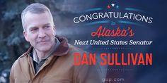 It's official: Alaska will have a Senator dedicated to real leadership. Congratulations, Dan Sullivan!