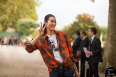 STYLE DU MONDE / Paris FW SS2014: Liu Wen  // #Fashion, #FashionBlog, #FashionBlogger, #Ootd, #OutfitOfTheDay, #StreetStyle, #Style
