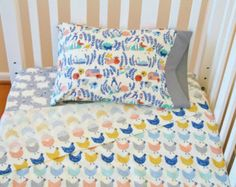 Fitted crib sheets cot sheets Hot air balloons Boy cot