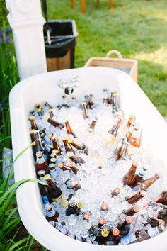 bathtub bar | Sam Stroud #wedding