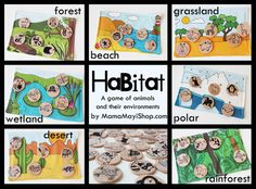 Great game for the littles! Lots of other great resources and ideas on this site.