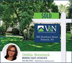 This beautiful #Teaneck home #SOLD by Debra Botwinick! Call Debra Botwinick  - V & N Realty - 201-851-1035 or visit us online at http://ift.tt/2azWju6  More Listings. More Experience. More Sales. #bergenfield #newmilford #realestate #veranechamarealty #njrealestate #realtor #homesforsale - http://ift.tt/1QGcNEj