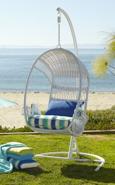 I want this in my backyard!   Enjoy a cool, shady escape with our classic Swingasan®