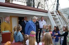 Prinsesser ombord på Fregatten 080716 0054